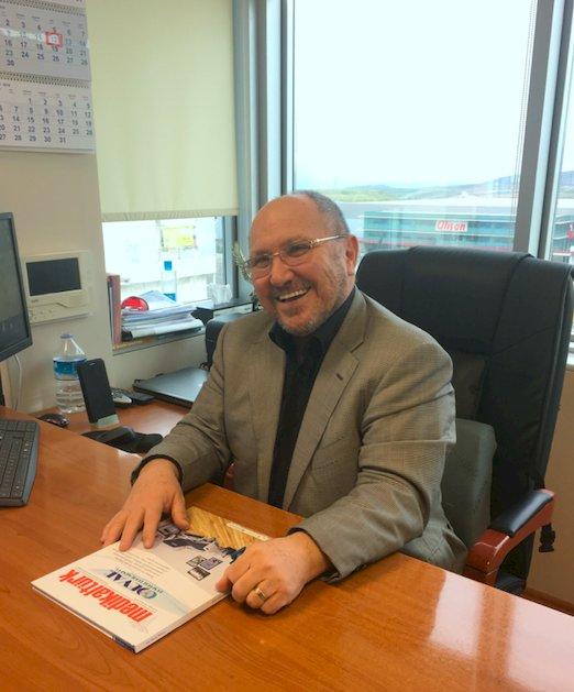"""G.Z.T Kimya Genel Müdürü Turgut Erşahin: """"Sağlık için en yüksek standartları hedefliyoruz"""""""