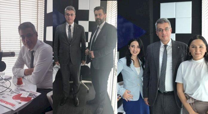 İstanbul İl Sağlık Müdürü: Kemal Memişoğlu Dergimizi Ziyaret Etti