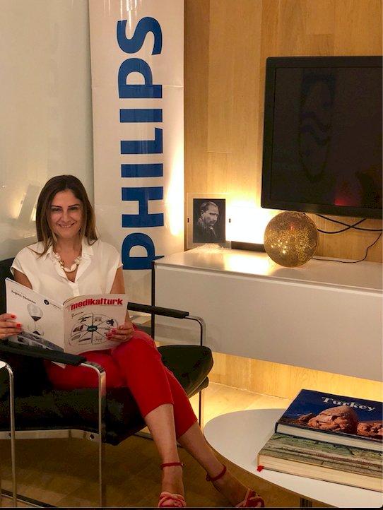 Philips Türkiye Sağlık Sistemleri Pazarlama Direktörü: Gamze Arbak